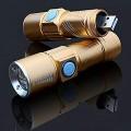 Mini Επαναφορτιζόμενος Φακός Usb Υψηλής Φωτεινότητας Cree Led Q5 200LM Ηλεκτρολογικό Υλικό