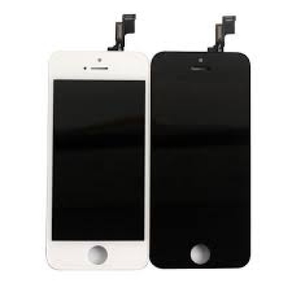 APPLE IPHONE 5S /5 SE LCD BLACK / WHITE ΟΘΟΝΕΣ ΚΙΝΗΤΩΝ