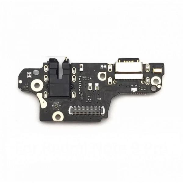 ΠΛΑΚΕΤΑ ΦΟΡΤΙΣΗΣ / Charge Connector, Headphone Jack and Microphone PCB Board for Xiaomi Redmi Note 9 Pro, Redmi Note 9S Ανταλλακτικά κινητών