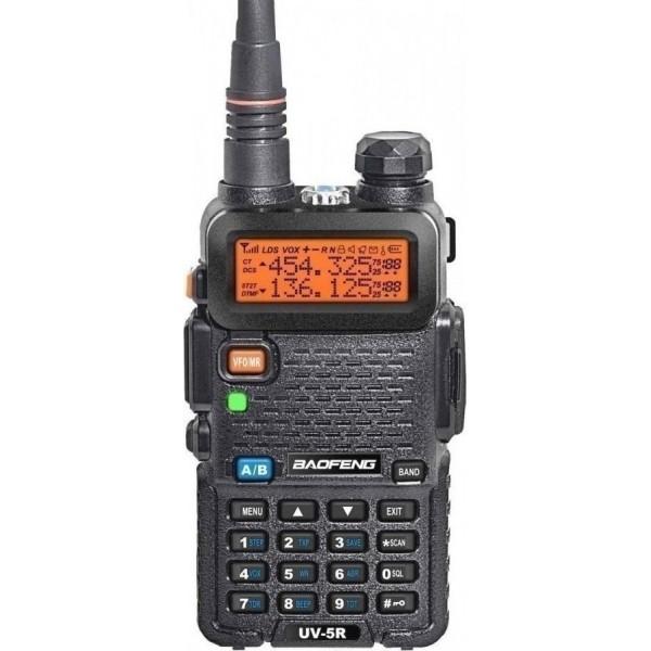 Baofeng UV-5R Πομποδεκτης VHF/UHF ΕΩΣ 5.8W (Handsfree) TV - Gadget