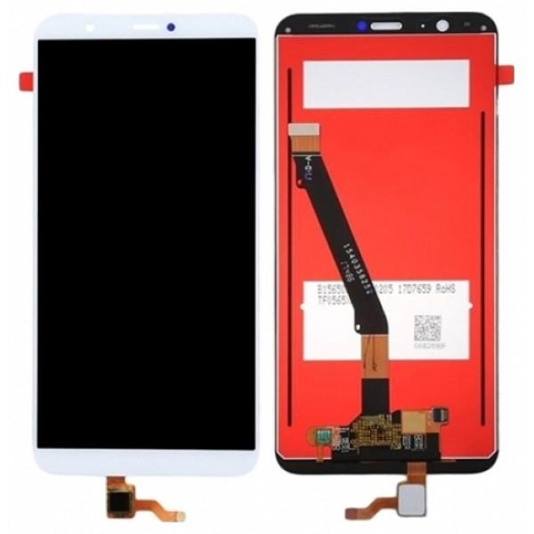 HUAWEI PSMART - Enjoy 7S ΟΘΟΝΗ LCD WHITE / ΛΕΥΚΗ Ανταλλακτικά κινητών
