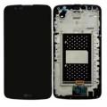 Γνήσια LG Οθόνη LCD και Digitizer Οθόνη Μηχανισμού Αφής για LG K10 K430dsE - black με Frame ΟΘΟΝΕΣ ΚΙΝΗΤΩΝ